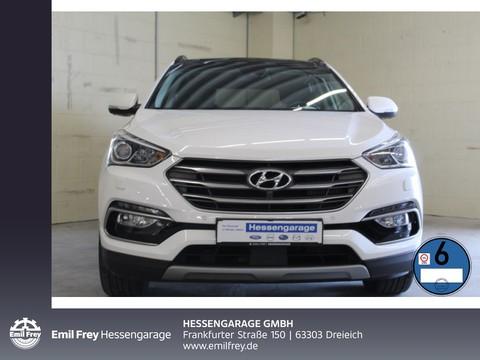 Hyundai Santa Fe 2.2 CRDI blue Automatik