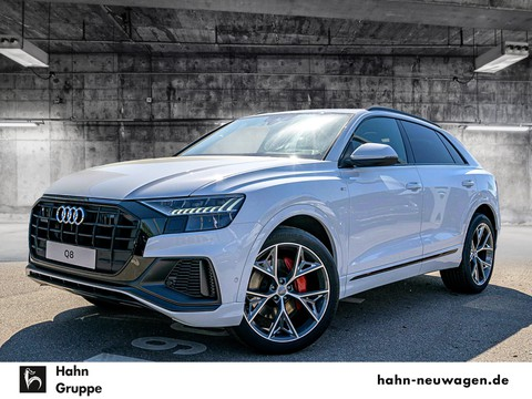 Audi Q8 S line Sportpaket - - S plus vorn - Glanzpaket schwarz - lüftung