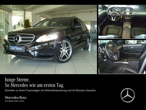 Mercedes E 300 T AMG Fond-Entertainm