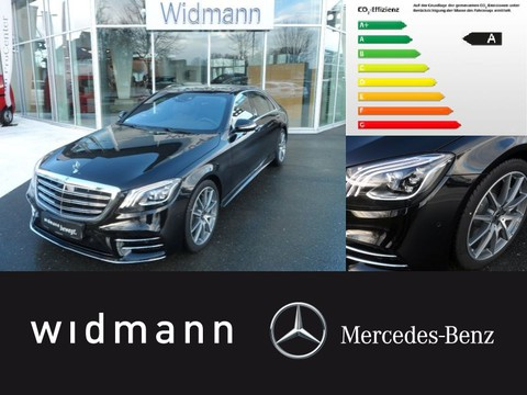 Mercedes S 400 d Limousine lang AMG-Line Automatik