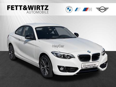 BMW 218 i Coupe Sport Line RFT