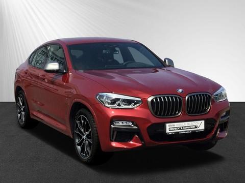 BMW X4 M40 d DA H&K Display-Key