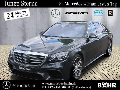 Mercedes-Benz S 63 AMG lang Brabus-Umbau First-Class Fond