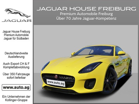 Jaguar F-Type 0.8 COUPÉ P380 R-DYNAMIC LEASING %
