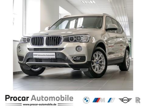 BMW X3 xDrive20d Durchlade