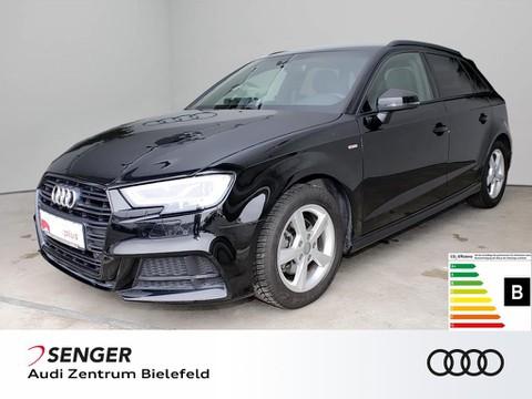 Audi A3 1.5 TFSI Sportback sport S line BLACK EDITION