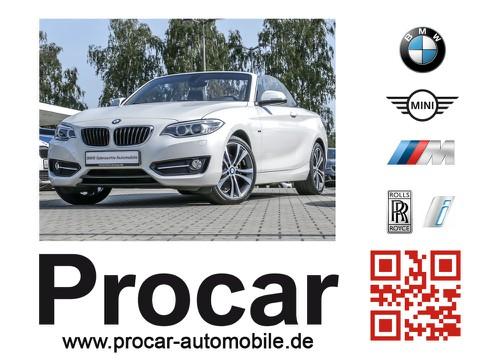 BMW 228 i Cabrio Sport Line Innovationsp