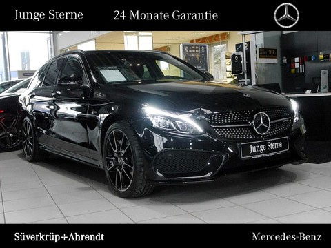 Mercedes C 43 AMG T Night Performance Abgas Glasfaser