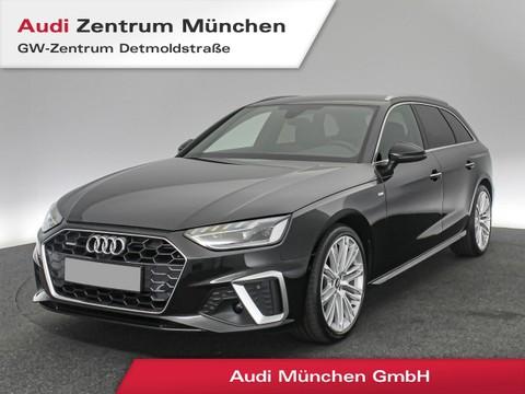 Audi A4 Avant 40 TDI qu S line Front