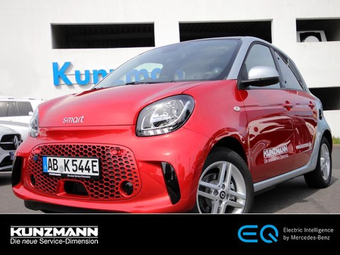smart EQ forfour passion Media-System