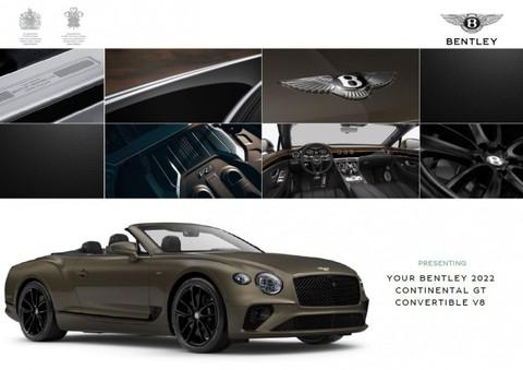 Bentley New Continental GTC V8 BLACKLINE MULLINER EDEL