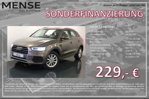 Audi Q3 2.0 TFSI Design
