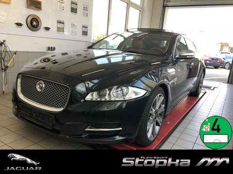 Jaguar XJ 5.0 V8 PORTFOLIO LANG B&W TV Massage TAN
