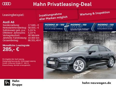 Audi A6 Limousine - S line Sportpaket - - Frequenz Kombination S-Prägung - und Heckleuchten und Scheinwerfer-Reinigungsanlage - plus Umgebungsanzeige