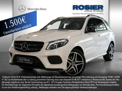 Mercedes GLE 250 d AMG-Line Night Fahr