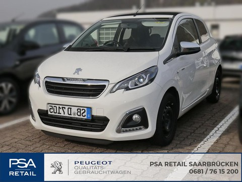 Peugeot 108 Top Style VTI heizung