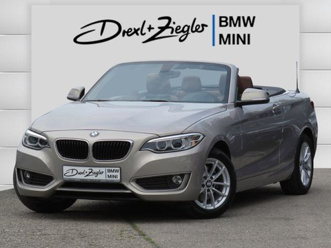 BMW 220 i Cabrio Advantage HiFi
