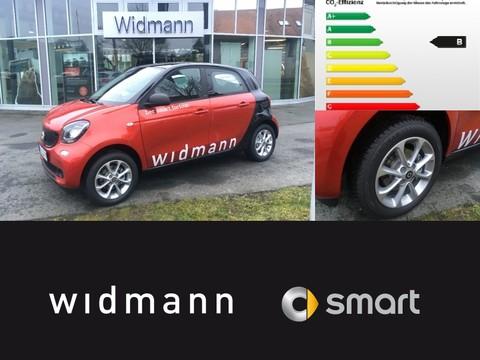 Smart ForFour passion Cool u Audio