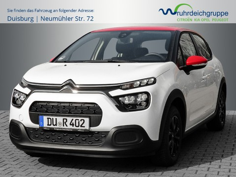 Citroën C3 1.2 Feel 82 EU6d Multif Lenkrad