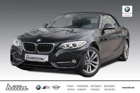 BMW 220 d Cabrio Sport Line HiFi Prof