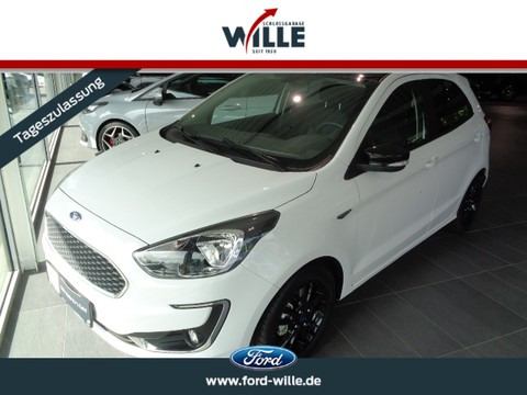 Ford Ka Black White Easy Driver Paket