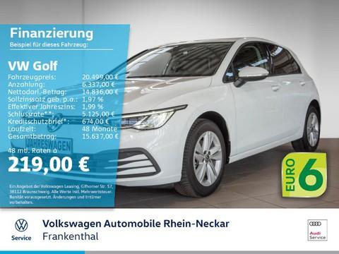 Volkswagen Golf 1.5 TSI VIII 8 Life Digital-Tacho