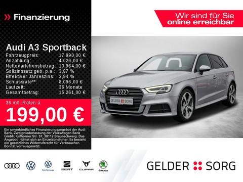 Audi A3 2.0 TDI Sportback S line