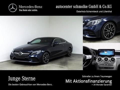 Mercedes-Benz C 300 d COUPE AMG-LINE BURMESTER