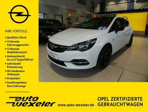 Opel Astra K Line S S Black-Roof