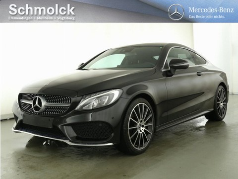 Mercedes C 180 Coupe AMG Carbon Park