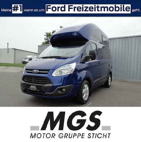 Ford Transit Nugget #WOHNMOBIL #EURO VI #DACHBETT