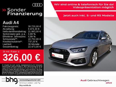 Audi A4 Avant advanced 35 TDI
