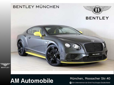 Bentley Continental GT Speed Black Edition Naim RÃŒckfah