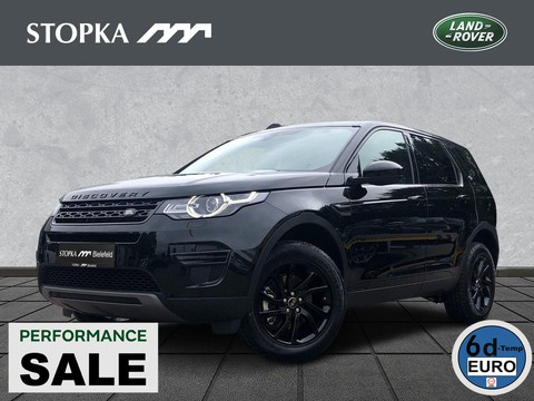 Land Rover Discovery Sport 2.0 Si4 SE Black-Edition