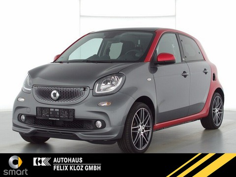 smart ForFour 66kw Brabus