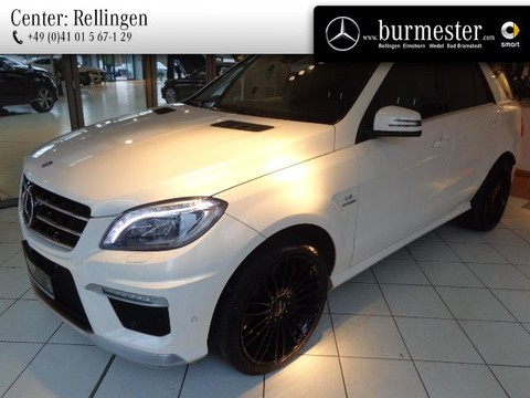Mercedes ML 63 AMG Off-Roader Sitzklima Drivers P