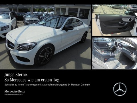 Mercedes C 180 Coupé AMG Nightp PanoDach