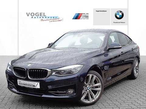 BMW 340 i xDrive Gran Turismo Modell Sport Line Prof Display Speed Limit Info Aktiver