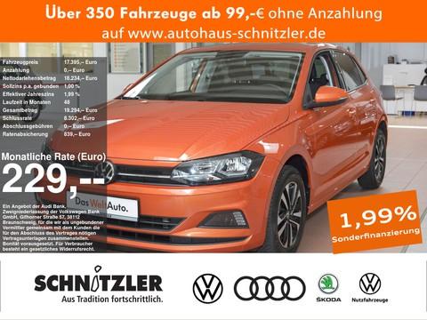 Volkswagen Polo 1.0 TSI Comfortline 229 ohne Anzahlung