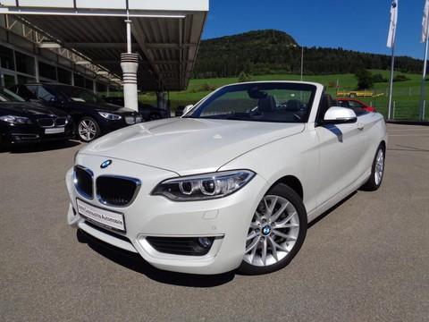 BMW 228 i Cabrio Advantage Innovationsp 17ŽLM