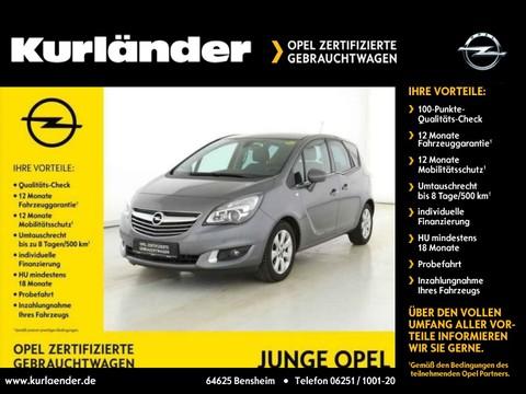 Opel Meriva 1.4 B Innovation Kurven