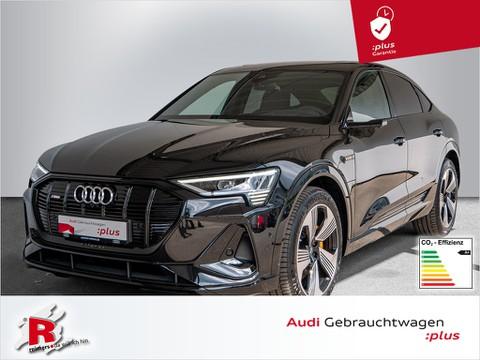 Audi e-tron Sportback 55 S line quattro