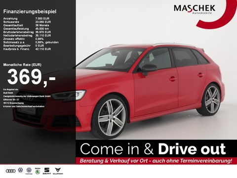 Audi S3 Sportback S-Sitze BlackEditi