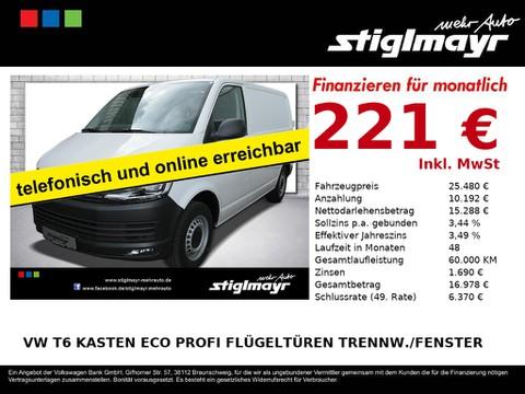 Volkswagen T6 Kasten Eco Profi Trennw Fenster