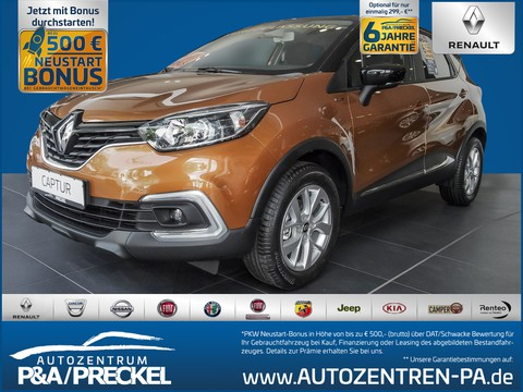 Renault Captur LIMITED TCe 90 Deluxe-Paket