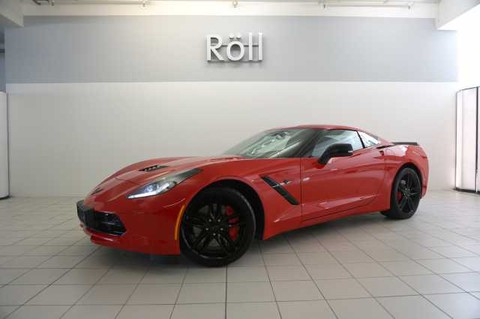 Corvette C7 6.2 Stingray Automatik Red Package