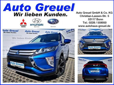 Mitsubishi Eclipse 1.5 Cross Active Blau