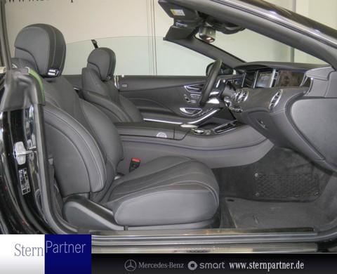 Mercedes S 500 Cabriolet Brabus Burmester Fahrassistenz
