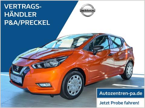 Nissan Micra 1.0 Visia Plus Safety-Paket