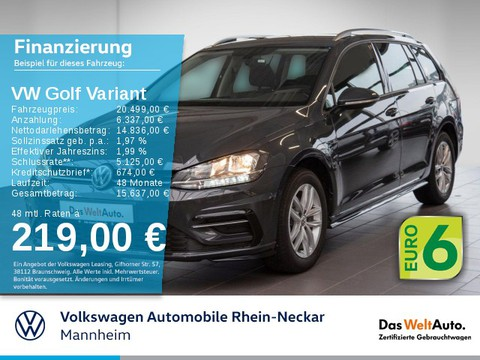 Volkswagen Golf Variant 2.0 TDI VII CL R-Line Exterieur Automatik